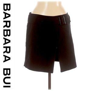 💕SALE💕 Barbara Bui Black Wrap Buckle Skirt